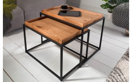 Table basse Design CIARO 2 SET