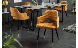 2 x Chaise Design PARIZON YELLOW