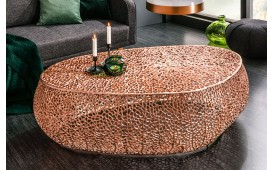 Table basse Design POCAHONTAS COPPER 122 cm