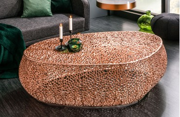 Table basse Design POCAHONTAS COPPER 122 cm-NATIVO™ Möbel Schweiz