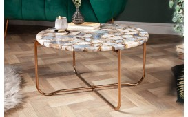 Table basse Design DUO BLUE