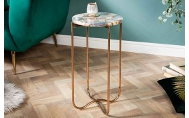 Table d'appoint Design DUO BLUE