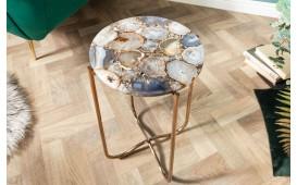 Tavolino d'appoggio di design DUO BLUE-NATIVO™ Möbel Schweiz
