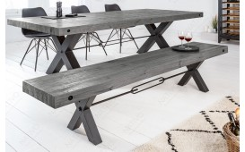Banc Design TORAH GREY 170 cm-NATIVO™ Möbel Schweiz