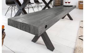 Designer Polsterbank TORAH GREY 170 cm-NATIVO™ Möbel Schweiz