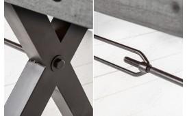 Banc Design TORAH GREY 200 cm-NATIVO™ Möbel Schweiz