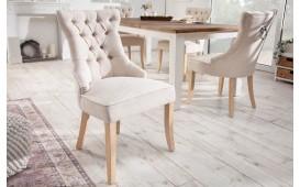 2 x Chaise Design FORTRESS LINEN BEIGE-NATIVO™ Möbel Schweiz