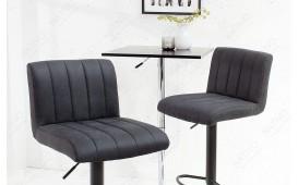 2 x Designer Barhocker PORT DARK GREY-NATIVO™ Möbel Schweiz
