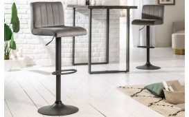 2 x Tabouret de bar PORT LIGHT GREY