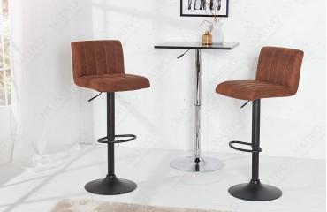 2 x Designer Barhocker PORT BROWN-NATIVO™ Möbel Schweiz
