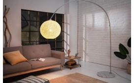 Lampadaire design NEST WHITE