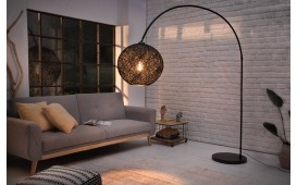 Lampadaire design NEST BLACK