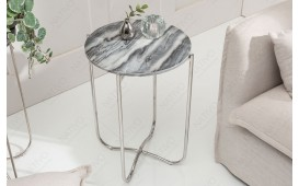Table d'appoint Design DUO GREY