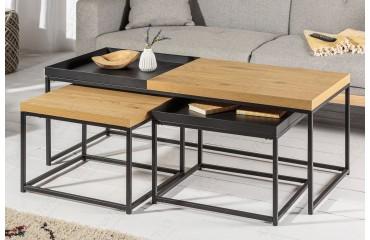 Table basse Design RIFLE SET 3-NATIVO™ Möbel Schweiz