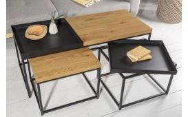 Tavolino di design RIFLE SET 3-NATIVO™ Möbel Schweiz