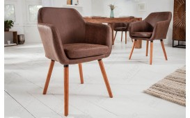 Sedia di design PREMO BROWN-NATIVO™ Möbel Schweiz