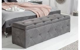 Designer Polsterbank FLOURISH DARK GREY-NATIVO™ Möbel Schweiz