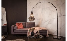 Lampadaire design QUEEN BLACK