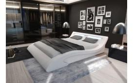 Lit Design ODYSSEY avec éclairage (Blanc) EN STOCK-NATIVO™ Möbel Schweiz