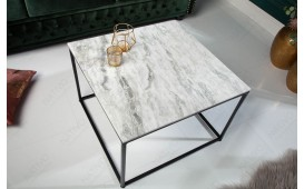 Table basse Design UNITY MARBLE WHITE