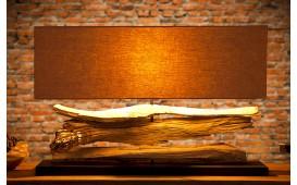 Designer Tischleuchte RIVERA LONG I