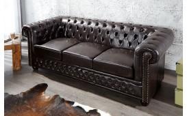 3 sitzer sofa CHESTERFIELD DARK COFFEE-NATIVO™ Möbel Schweiz