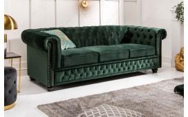 3 sitzer sofa CHESTERFIELD GREEN-NATIVO™ Möbel Schweiz