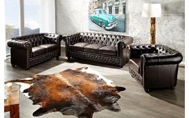 2 sitzer sofa CHESTERFIELD DARK COFFEE-NATIVO™ Möbel Schweiz