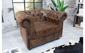 Fauteuil Relax CHESTERFIELD ANTIK BROWN