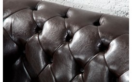 Poltrona Relax CHESTERFIELD DARK COFFEE-NATIVO™ Möbel Schweiz