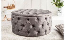 Pouf di design ROCCO GREY-NATIVO™ Möbel Schweiz