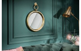 Miroir Design MARIBELL ROUND GOLD