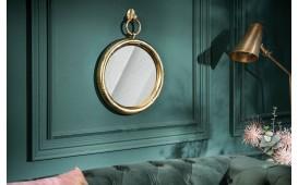 Specchio di design MARIBELL ROUND GOLD