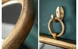 Miroir Design MARIBELL ROUND GOLD-NATIVO™ Möbel Schweiz
