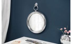 Specchio di design MARIBELL ROUND SILVER