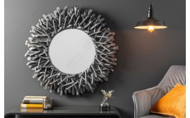 Miroir Design WOOD GREY