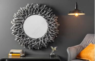Miroir Design WOOD GREY-NATIVO™ Möbel Schweiz