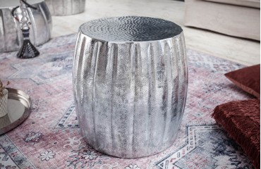 Table d'appoint Design BOHO SILVER-NATIVO™ Möbel Schweiz