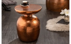 Table d'appoint Design ORIENTAL ROUND COPPER