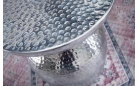 Table d'appoint Design ORIENTAL ROUND SILVER-NATIVO™ Möbel Schweiz