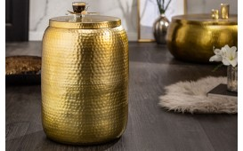 Tavolino d'appoggio di design ORIENTAL S GOLD