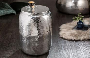 Designer Beistelltisch ORIENTAL S SILVER-NATIVO™ Möbel Schweiz