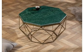 Table basse Design DIAMANDE MARBLE GREEN-NATIVO™ Möbel Schweiz