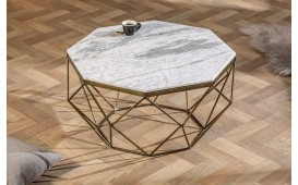 Table basse Design DIAMANDE MARBLE WHITE-NATIVO™ Möbel Schweiz