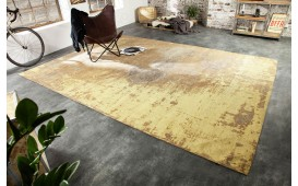 Tapis Design NOVEL RUST BROWN