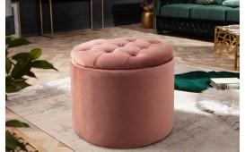 Designer Sitzhocker ROCCO ROSE S