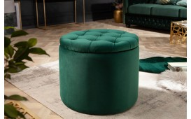 Tabouret Design ROCCO DARK GREEN S