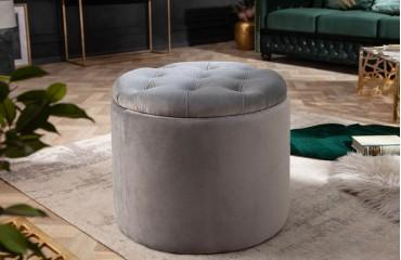 Tabouret Design ROCCO GREY S-NATIVO™ Möbel Schweiz