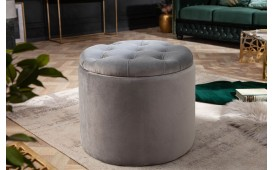 Pouf di design ROCCO GREY S-NATIVO™ Möbel Schweiz