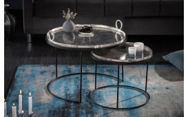 Table d'appoint Design ORIENTA SET 2-NATIVO™ Möbel Schweiz